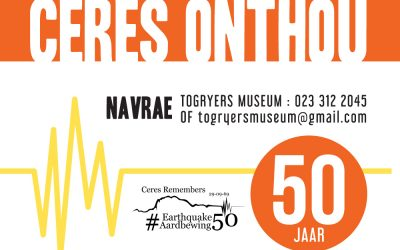 COMMEMORATION ON THE 50TH ANNIVERSARY OF THE 1969 EARTHQUAKE